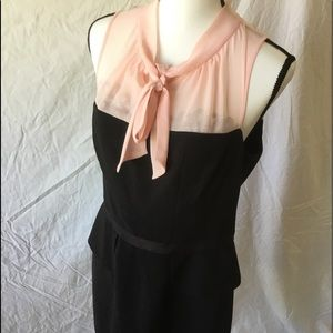 New Black & Pink Dress Size 10